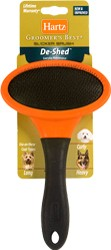 Щётка-пуходерка для собак Hartz Slicker Brush for Dogs